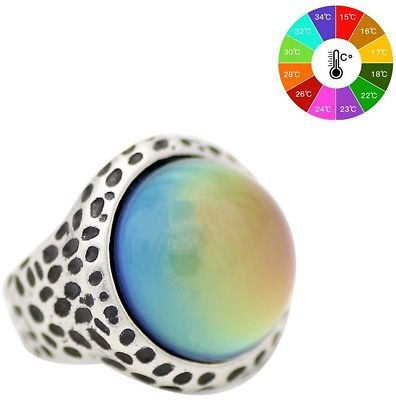 Primary image for  Mood Ring Emotion Feeling Color Changeable Zinc Alloy Rings US Size 7 8 9
