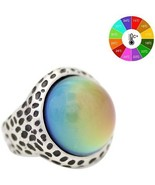 Mood Ring Emotion Feeling Color Changeable Zinc Alloy Rings US Size 7 8 9 - $16.86