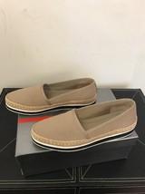 New Prada Pantofola Scollata Khaki Slip Ons EU SZ 38 $695 - $193.99