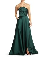 NEW Jason Wu Strapless Evening Gown in Green (Size 6) - MSRP $4995! - $1,195.00