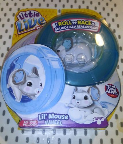 Little Live Pets Mouse Wheel Wonder Wings Playset