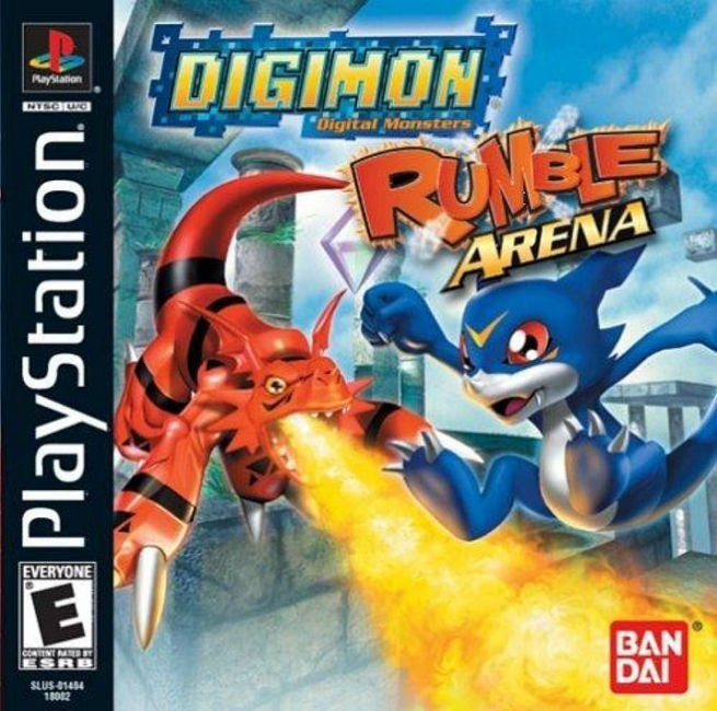 Digimon Rumble Arena PS1 Great Condition Fast Shipping