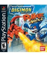 Digimon Rumble Arena PS1 Great Condition Fast Shipping - $17.94