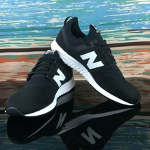 New Balance Men's Sneakers 247 Classic Black MRL247BG Size 10.5 - $52.44