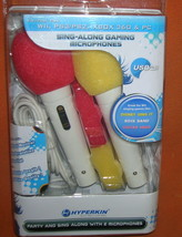 Hyperkins Inc Sing Along Gaming Microphones For WII,PS3/ #M05758 UPC:813... - $12.87