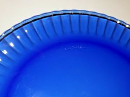 Haviland Limoges plate set with blue chargers and plate hanger AA19-1626  Vintag image 5