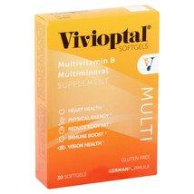 Vivioptal Multivitamin & Multimineral Supplement Softgels, 30 count - $9.00