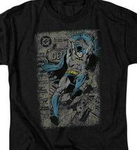 DC Comics Batman retro comic book cover superhero graphic t-shirt BM1842 image 3