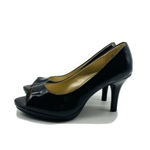 Bandolino Black Peep Toe Pumps Size 7.0M - $15.84