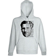 George Orwell - If You Want - New Cotton Grey Hoodie - $31.88