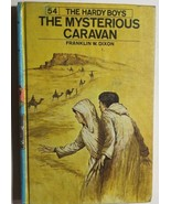 HARDY BOYS The Mysterious Caravan by Franklin W Dixon (c) 1975 G&D HC - $12.86