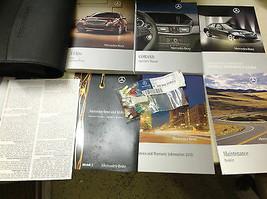 2010 Mercedes Benz E Klasse Modelle Owners Manuell Set mit Nav Buch + - $97.00