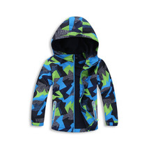 3-12Years Boys Spring Autumn Jacket Cardigan Hooded Fleece Coat Camoufla... - $34.52