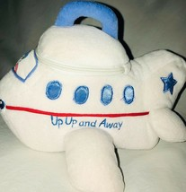 Baby Gund Up Up & Away Plush Airplane Pilot Zipper 58384 - $16.34