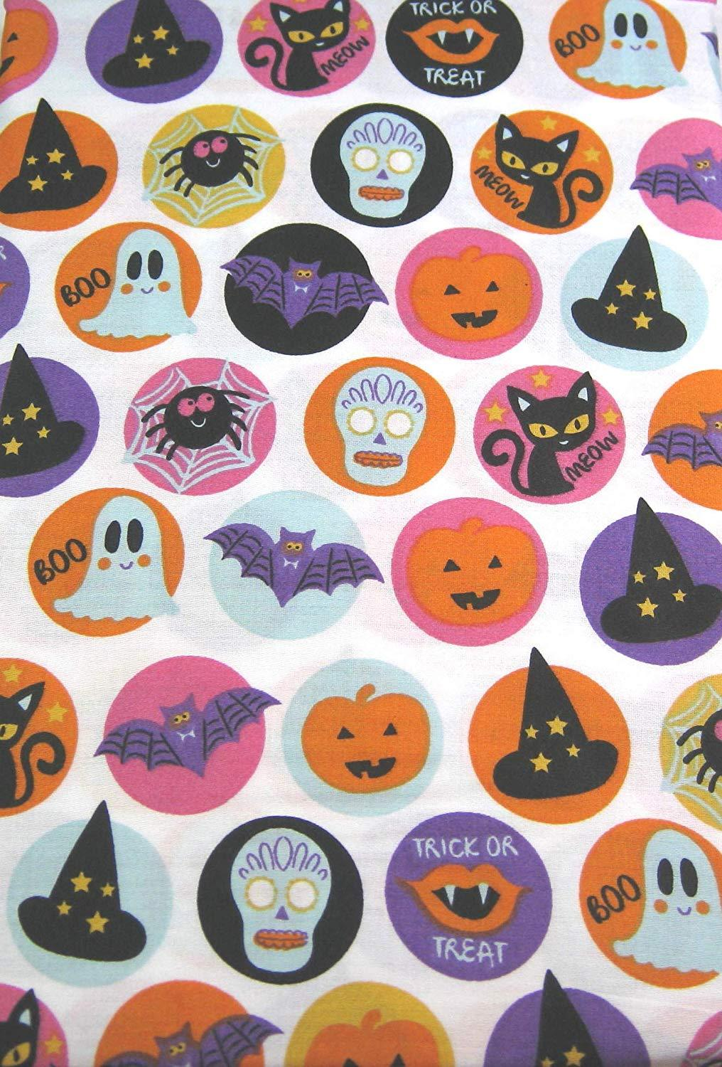 Cynthia Rowley Trick or Treat Halloween Cotton Pillowcaess Standard