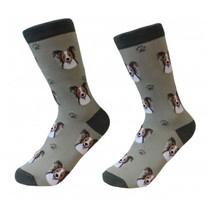 Papillon Socks Unisex Dog Cotton/Poly One size fits most - $11.99