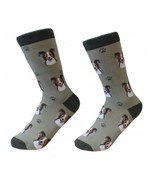 Papillon Socks Unisex Dog Cotton/Poly One size fits most - $11.99