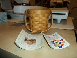 Longaberger 2002 Horizon of Hope Basket Warm Brown - $14.00