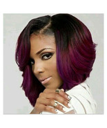 Women Short Curly Bob Wigs Natural Looking Heat Resistant Synthetic Hair... - $17.99