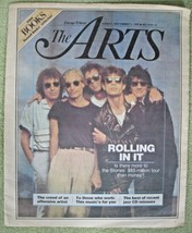 "Chicago Tribune: ""Rolling in it"" Rolling Stones - September 3, 1989 Arts... - $4.99"