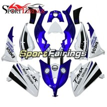 White Blue ABS Fairings For Yamaha 2012 2013 2014 T-MAX XP530 Plastic Bo... - $314.69