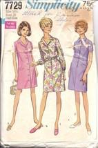 7729 Vintage Simplicity Cartamodello Misses in Vestito Cappotto Abito Mezza - $6.99