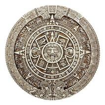 Ebros Mexica Aztec Solar Xiuhpohualli & Tonalpohualli Wall Calendar Scul... - $41.00