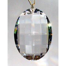 Swarovski 32mm Crystal Lattice Oval Prism image 1