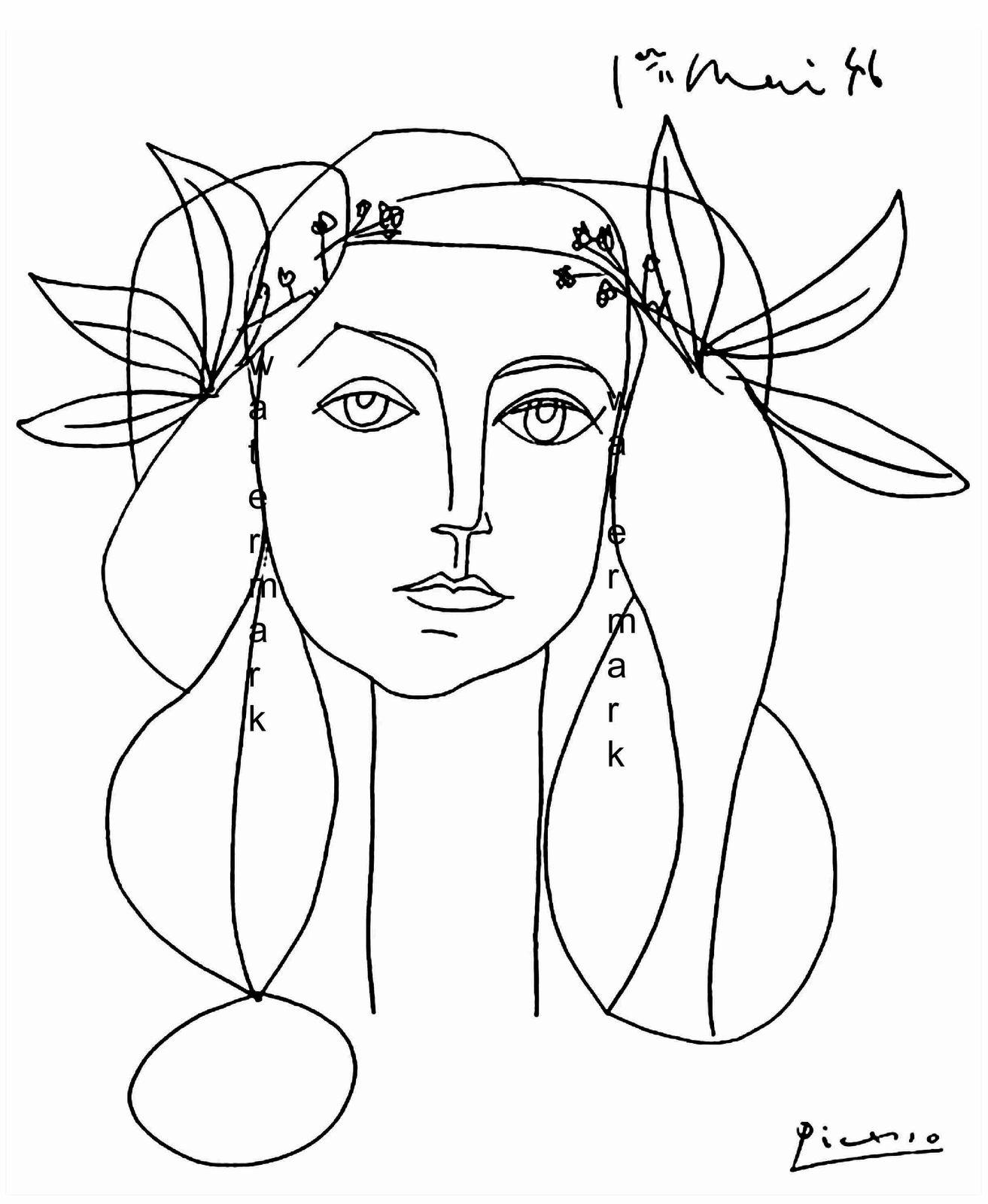 Picasso head 5a