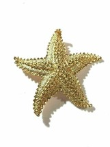 Gerrys Gold Tone Vintage Starfish Brooch - $7.91