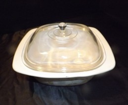 CorningWare Serving Dish and Lid AB 249-A Vintage - $58.75