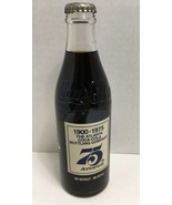 75th Anniversary Bottle The Atlanta Coca Cola Bottling Company 1900-1975 - $21.56