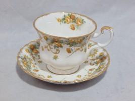 "Royal Albert England Sheraton Series ""Marjorie"" Cup and Saucer Set - $23.76"