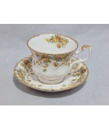 "Royal Albert England Sheraton Series ""Marjorie"" Cup and Saucer Set - $23.76"