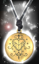 HAUNTED AMULET DRAW & MAGNIFY LOVE AMULET TALISMAN EXTREME POWER HIGH MA... - $39.91