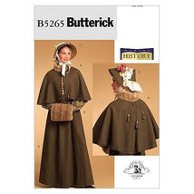 Butterick Patterns B5265 Misses' Historical Costume, Size AA (6-8-10-12) - $14.70