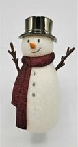 Bath and Body Works Snowman Wallflower Plug in Warmer Nightlight Christm... - $16.99