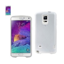 REIKO SAMSUNG GALAXY NOTE 4 CANDY SHIELD CASE WITH CARD HOLDER IN WHITE - $11.40