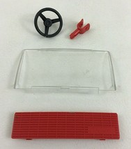 Playmobil 3935 Gigant Flatbed Truck Semi Replacement Grill Windshield Pi... - $12.82