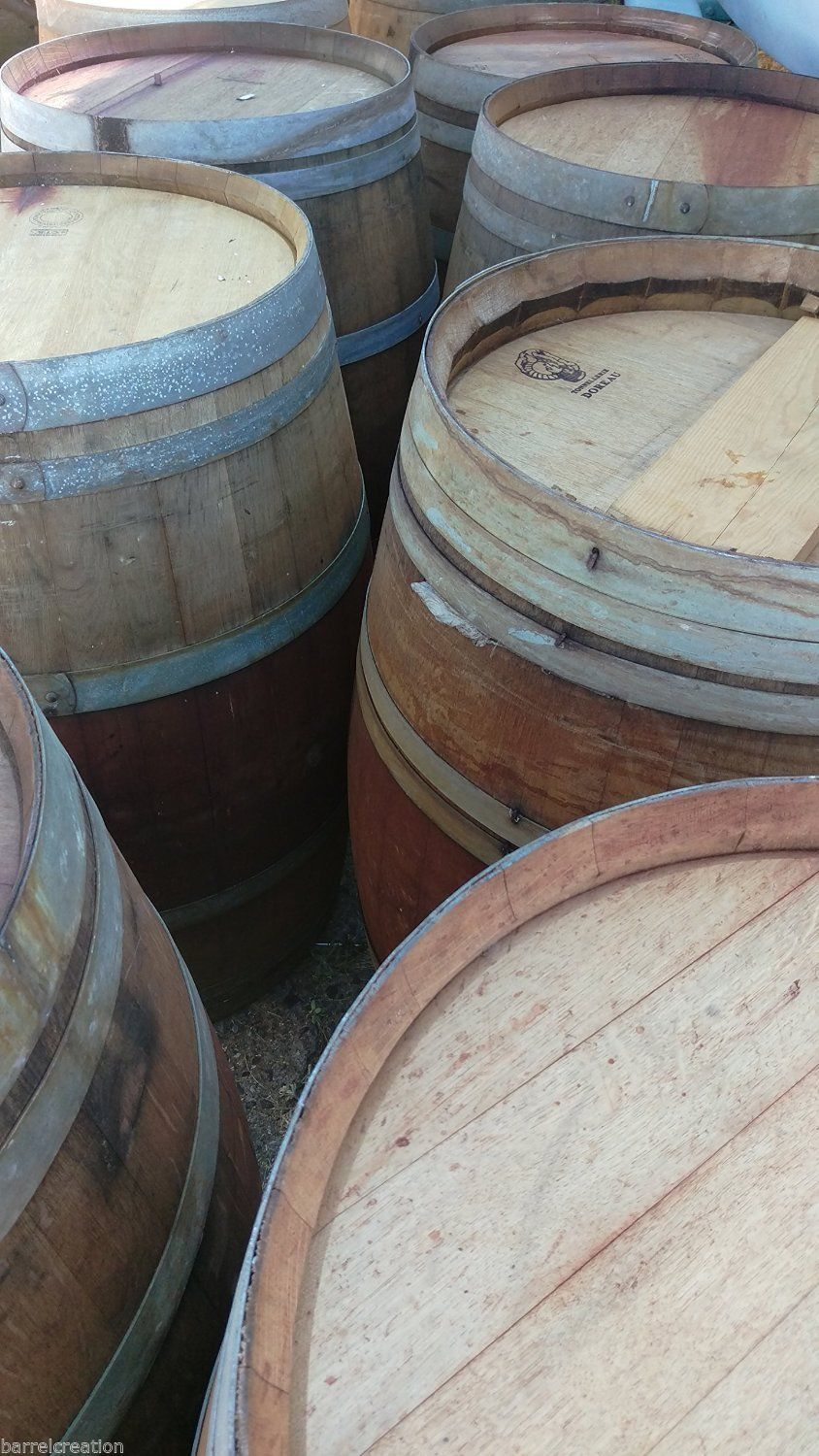 Authentic Used Wine Barrel Napa Valley And Similar Items