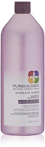 Pureology Hydrate Sheer Shampoo, 33.8 Fl Oz