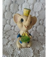 1970 Reliance Product Corp Made in Taiwan Rubber Vinly Elephant Squeaky Toy - $11.63