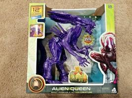 """NEW Alien Queen 12"""" Action Figure Walmart 2020 Exclusive Lanard Xenomorph Purple - $42.75"""