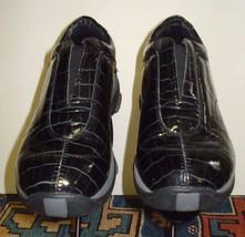 Women's Roper Performance Black Patent Leather Faux-Croc Loafer Sz. 38/7 US - $54.44