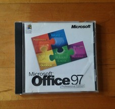 Microsoft office 97 Professional Edition Install Disk CD-ROM - $19.31