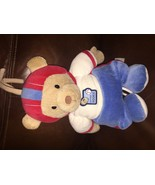 CARTERS~LITTLE ROOKIE~MUSICAL FOOTBALL BEAR~Crib PULL TOY~Baby Boys~SPORTS - $9.89