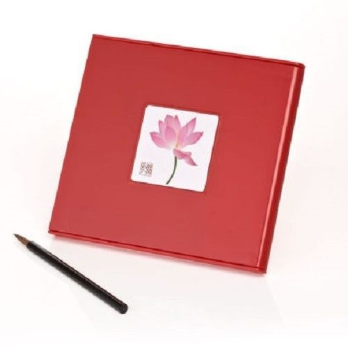 Water Drawing Board Art Supply Red Mini Buddha Board Erases Dry All Ages Relax