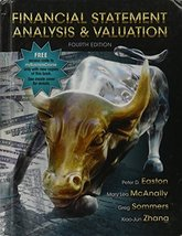 Financial Statement Analysis and Valuation [Hardcover] - $84.97