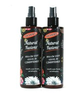 2 Bottles Palmer's 8.5 Oz Natural Fusions Mallow Root Leave In Conditioner - $28.99