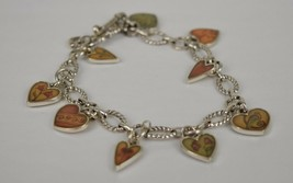 Brighton Picadilly Hearts Bracelet Love Passion Gratitude  - $29.65
